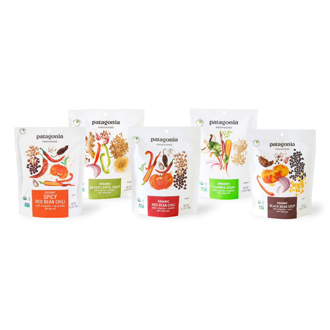 Patagonia Provisions 100% certified organic soup sampler