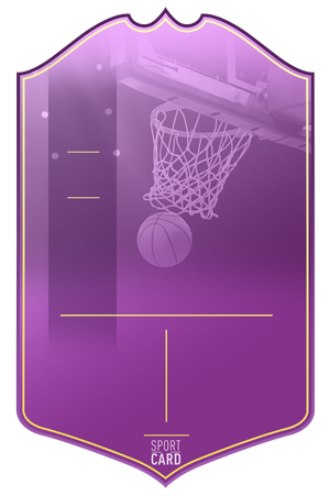 PURPLE BASKETBALL