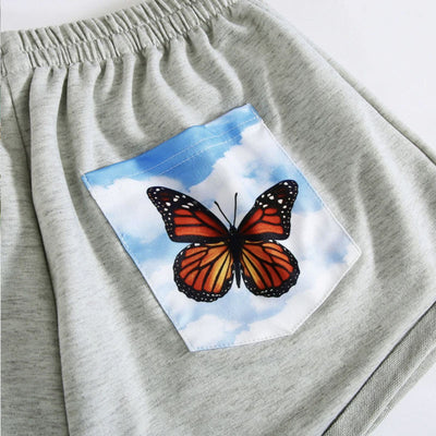 Hypnotic Butterfly Shorts