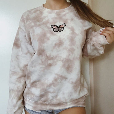 Floating Butterfly Crewneck