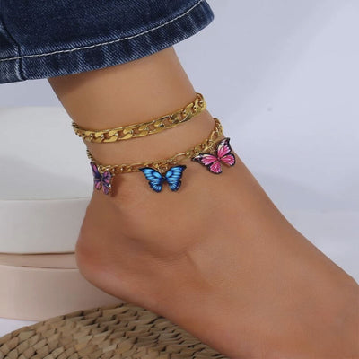 Threes A Charm Anklet