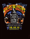 Bikers Ride for Justice - Million Man March 10.10.15