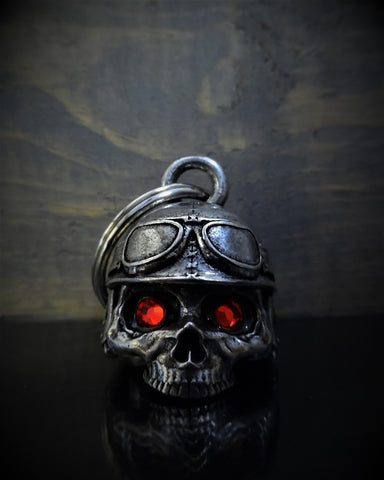 BB-76 Motorcycle Helmet Skull Diamond Bell