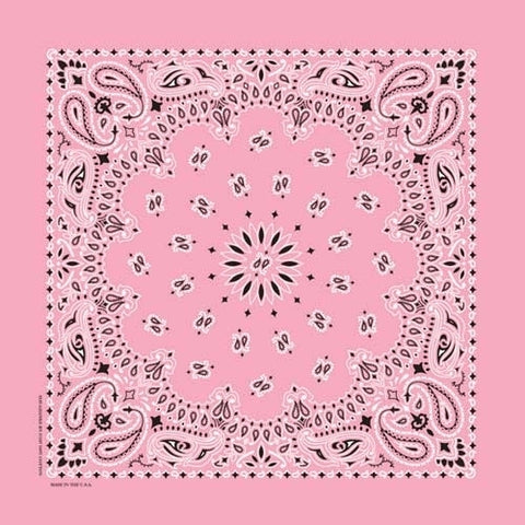 NT4408 Bandana Paisley Light Pink