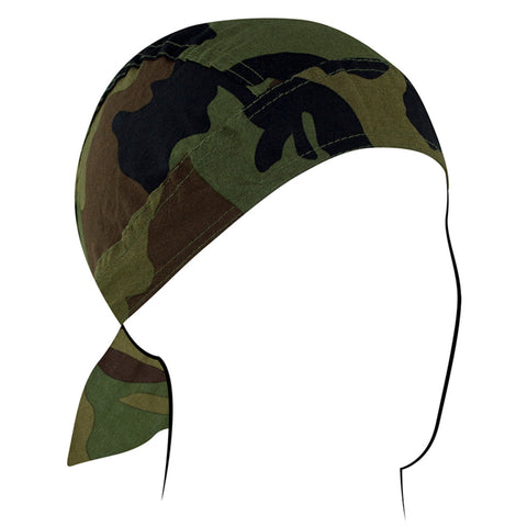 Z118C Flydanna®, Cotton, Woodland Camo