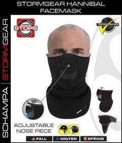 VNG006 StormGear Hanibal Facemask w/ Velcro Closure/ Nose Opening