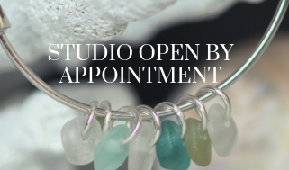 Sea Glass Designs jewelry studio open by appointment