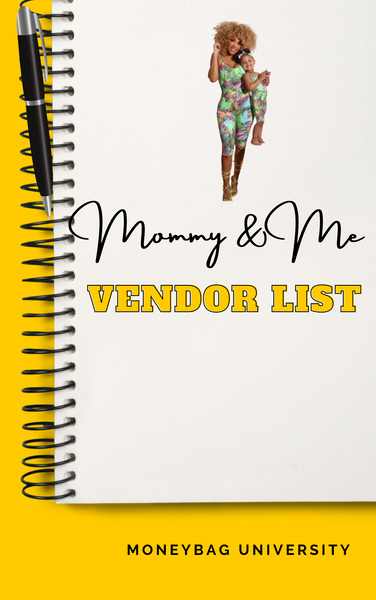 Mommy and Me Vendor List