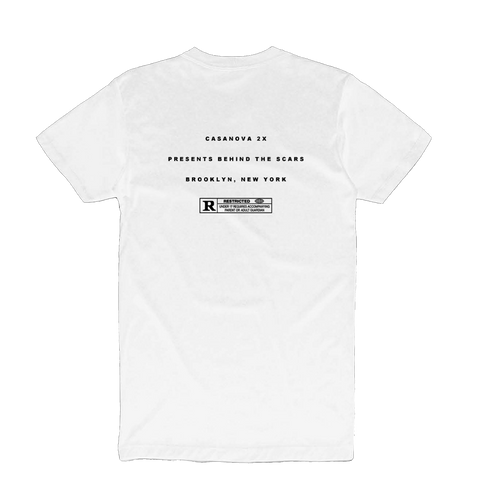 Case White T-Shirt + Digital Album