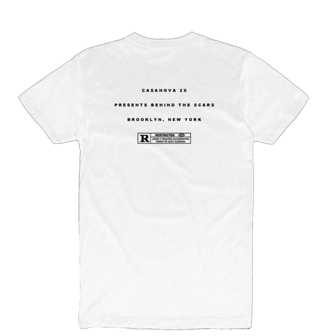 2X White T-Shirt + Digital Album