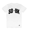 SO BK White T-Shirt + Digital Album