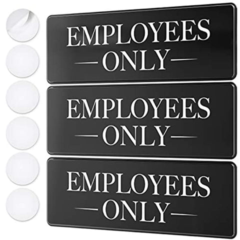 Employees Only Sign Kit