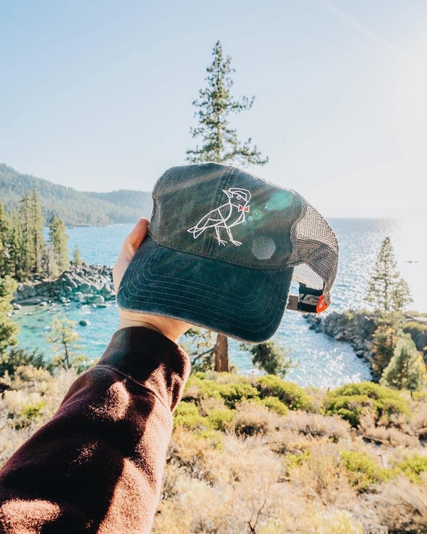 Ragamuffin Bird Trucker Hat