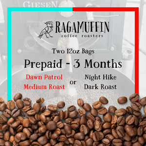 Pre-Paid Blended Coffee Subscription