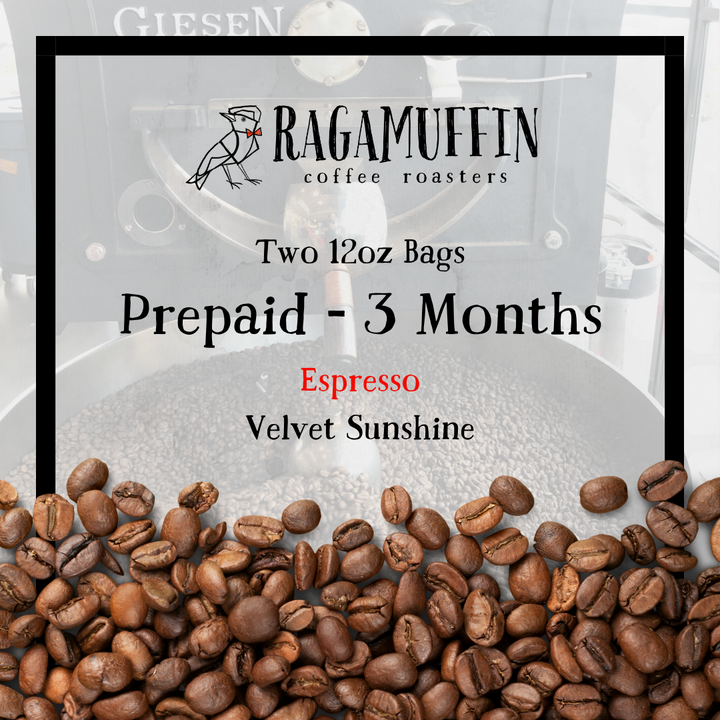 Pre-Paid Espresso Subscription