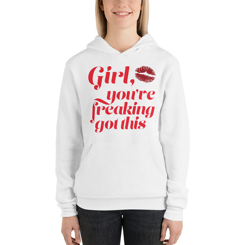 Girl, You've Freaking Got This Plus Size Hoodie