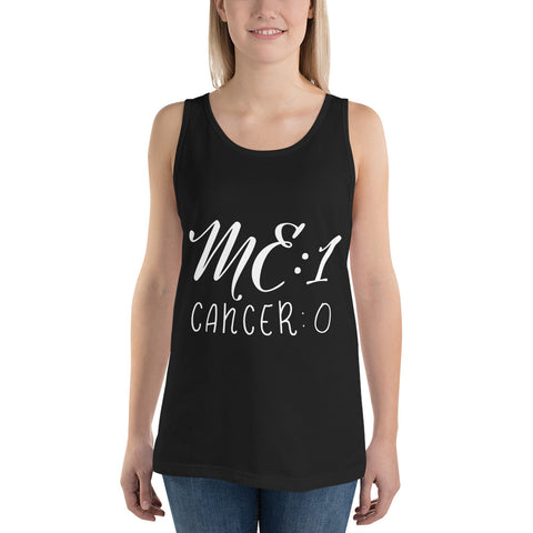 Me: 1 Cancer: 0 Workout Tank Top