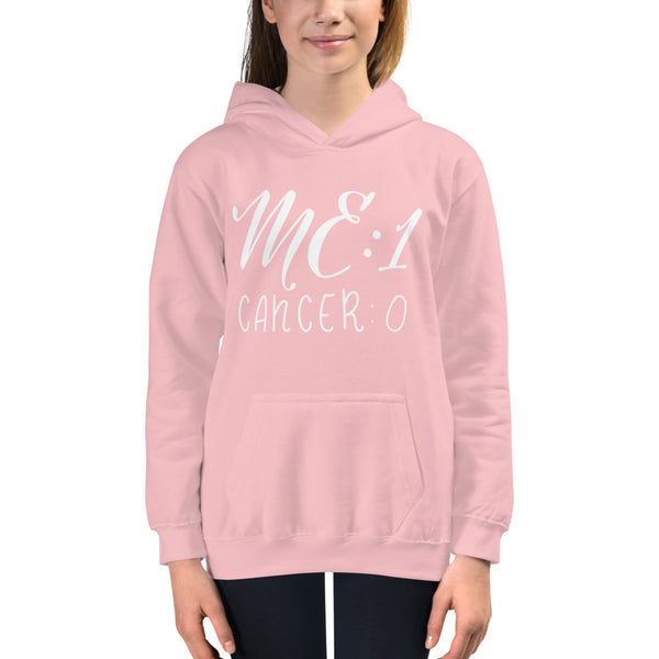Me: 1 Cancer: 0 Youth Hoodie