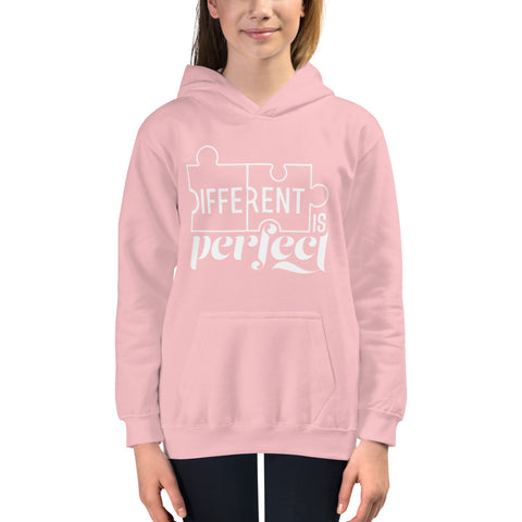 Different is Perfect Youth Hoodie