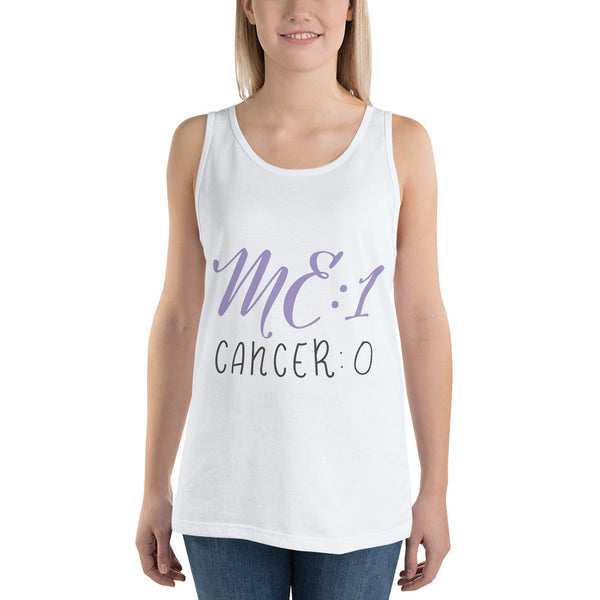 Me: 1 Cancer: 0 Plus Size Tank Top