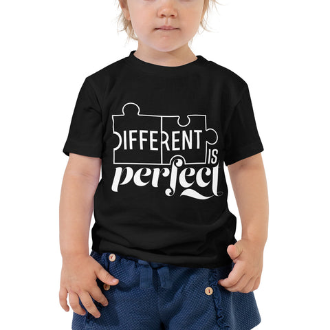 Different is Perfect Toddler T-Shirt