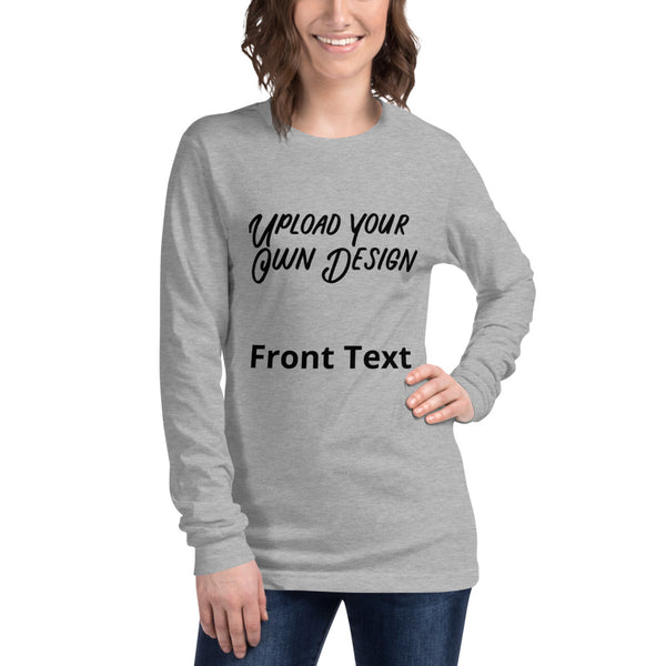 Custom Long Sleeve Tee