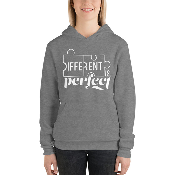 Different is Perfect Plus Size Hoodie