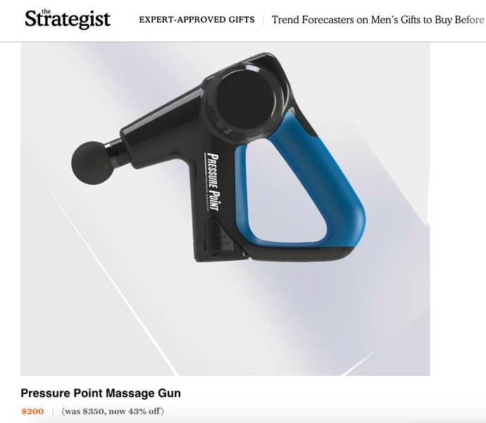 THE PRESSURE POINT P1 FEATURED IN NY MAG's THE STRATEGIST!