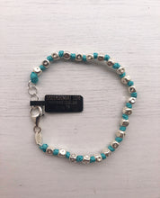 Load image into Gallery viewer, ACQUAMARINE RAINBOW BRACELET