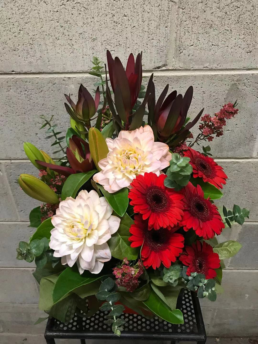 Posie Box Arrangement