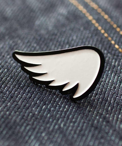 SA1NT Wing Pin - White