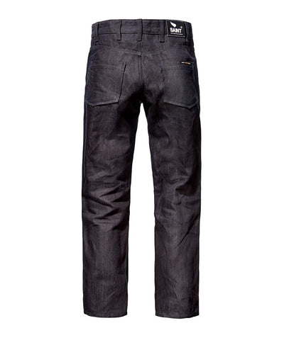 Unbreakable Relaxed Straight Jeans - Jet Black Indigo