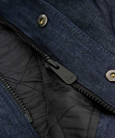 Aramid Lined Denim Shacket- Indigo