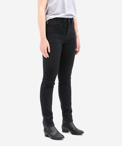 Women's Unbreakable High Rise Skinny Jeans - Black
