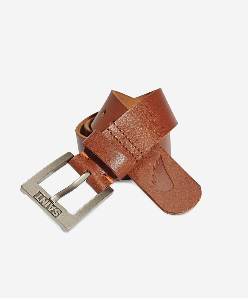 SA1NT Leather Belt - Tan