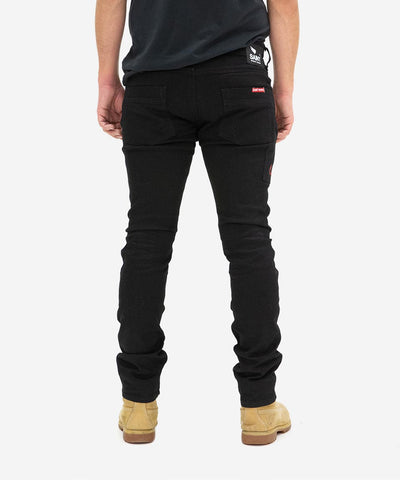 5 Pocket Jeans - Black