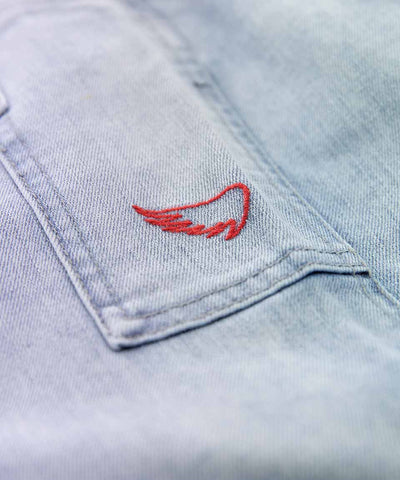 5 Pocket Jeans - Light Bleached