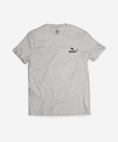 SA1NT Basic Tee - Grey Marle