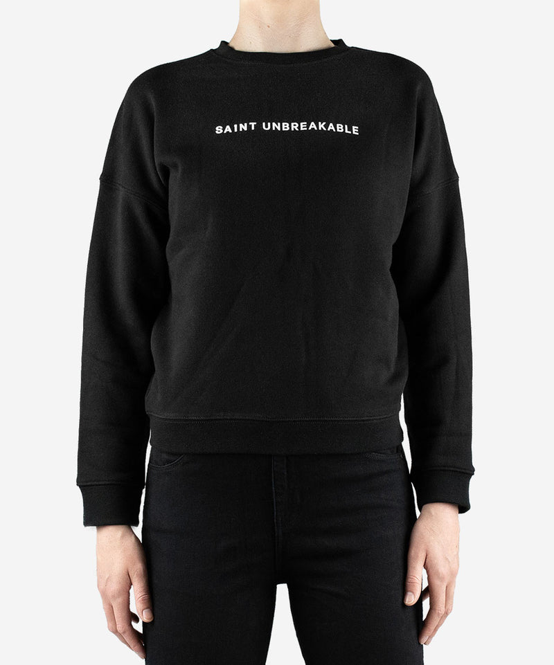 Women's SA1NT Unbreakable Minimalistic Crew Neck Jumper