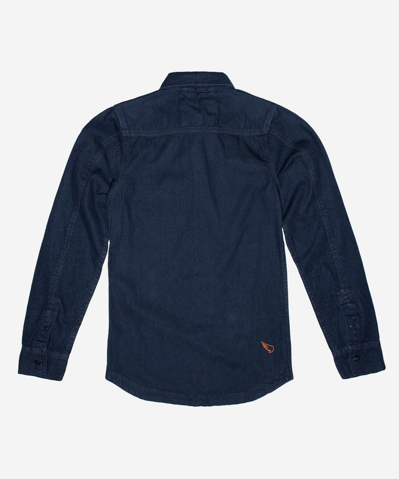 SA1NT Denim Shirt - Indigo