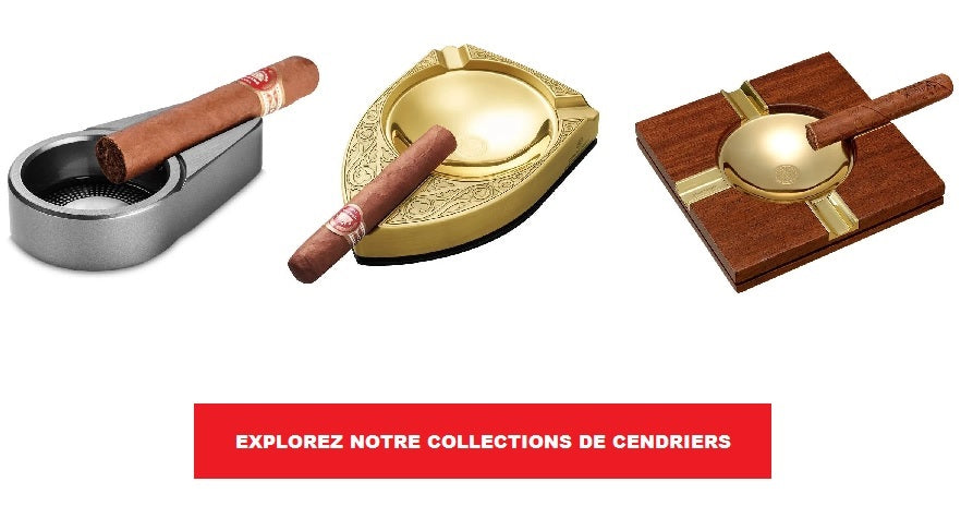 Collection de cendriers pour cigares