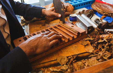 Fabrication d'un cigare