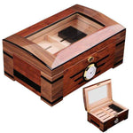 cave-à-cigare-humidor-double-Étages-cigare-shop.com