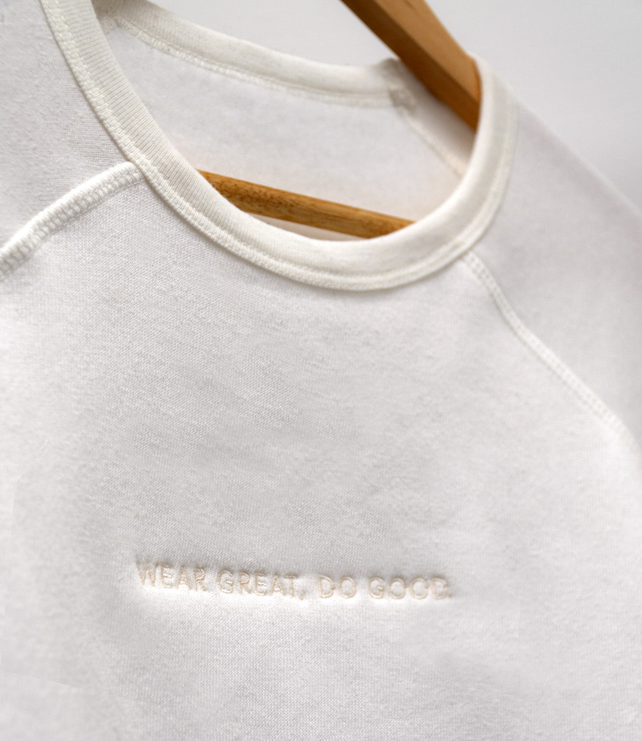 Wear Great, Do Good - Fleece Raglan