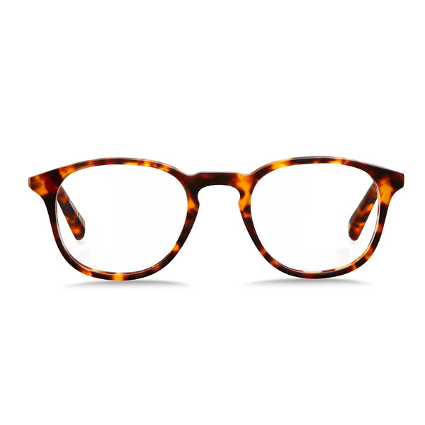Parker / Matte Orange Tortoiseshell