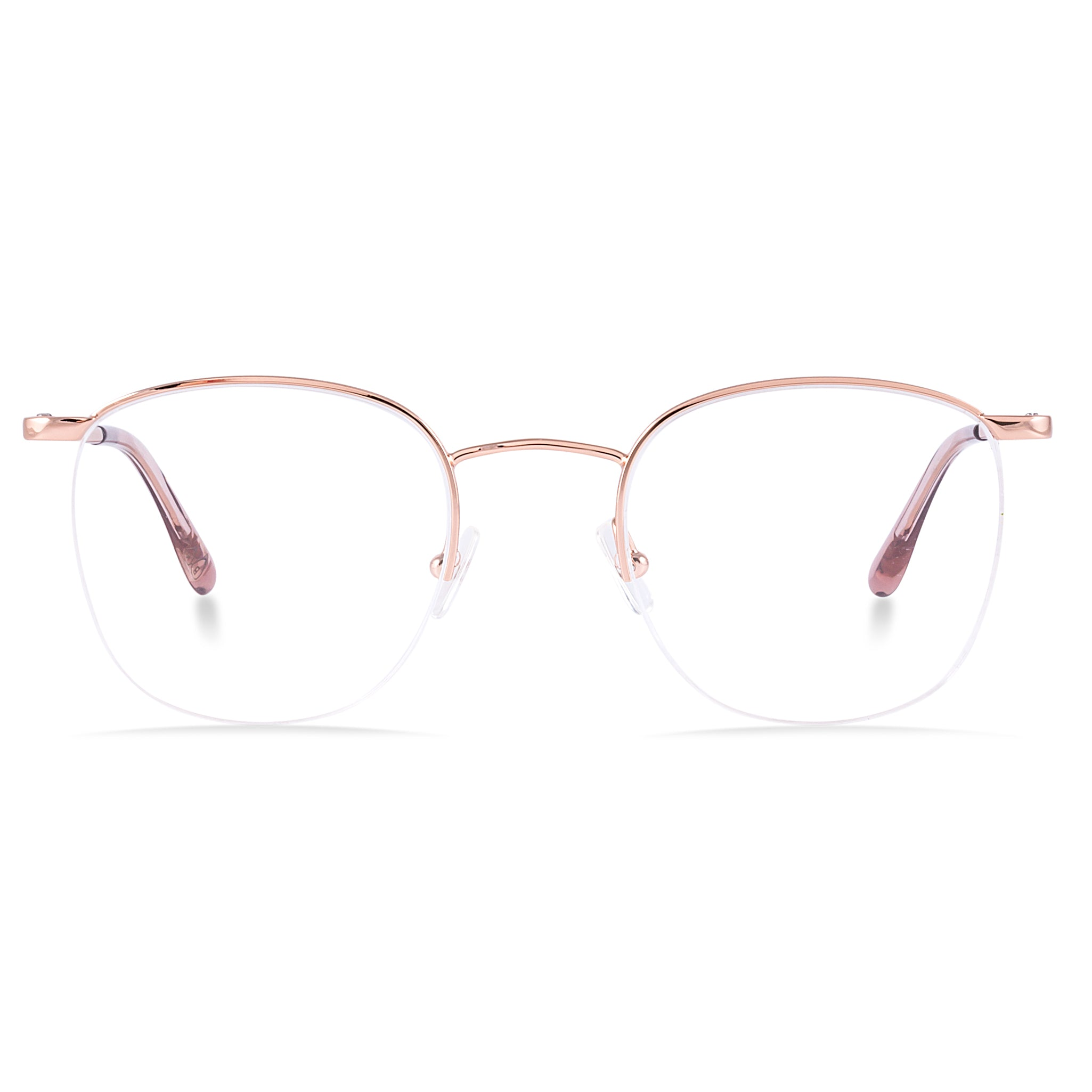 1a4ee1a2ac5d Bailey Nelson Theodore Semi Rimless Metal Optical Glasses