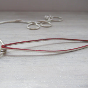 Red Flash Of Colour Pendant