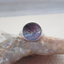 Load image into Gallery viewer, Purple galaxy ring