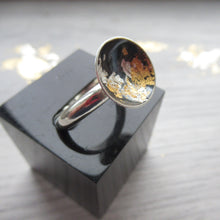 Load image into Gallery viewer, Ring - Black and gold