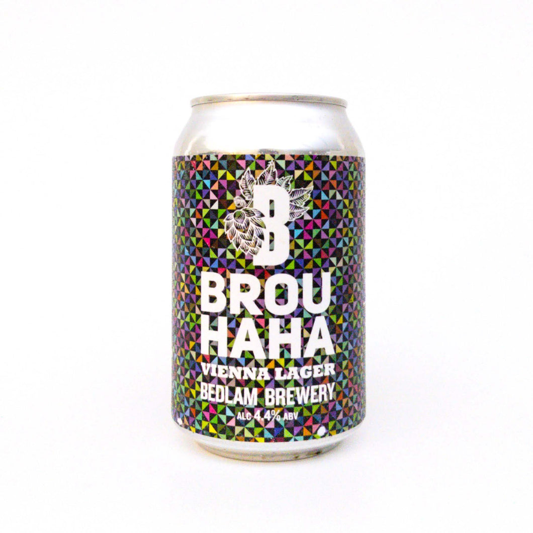 Brou Haha Vienna Lager ABV 4.4% (330ml)